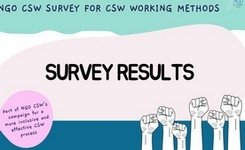 Results on NGO CSW Survey on CSW Working Methods